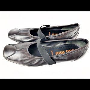 🧡Vintage Miu Miu Mary Jane Ballet Flats